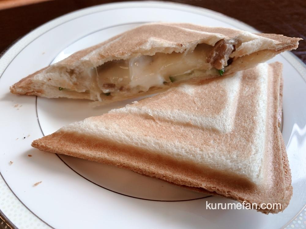 pousser suikoyen(プセ萃香園)ホットサンド 照り焼きチキンチーズ