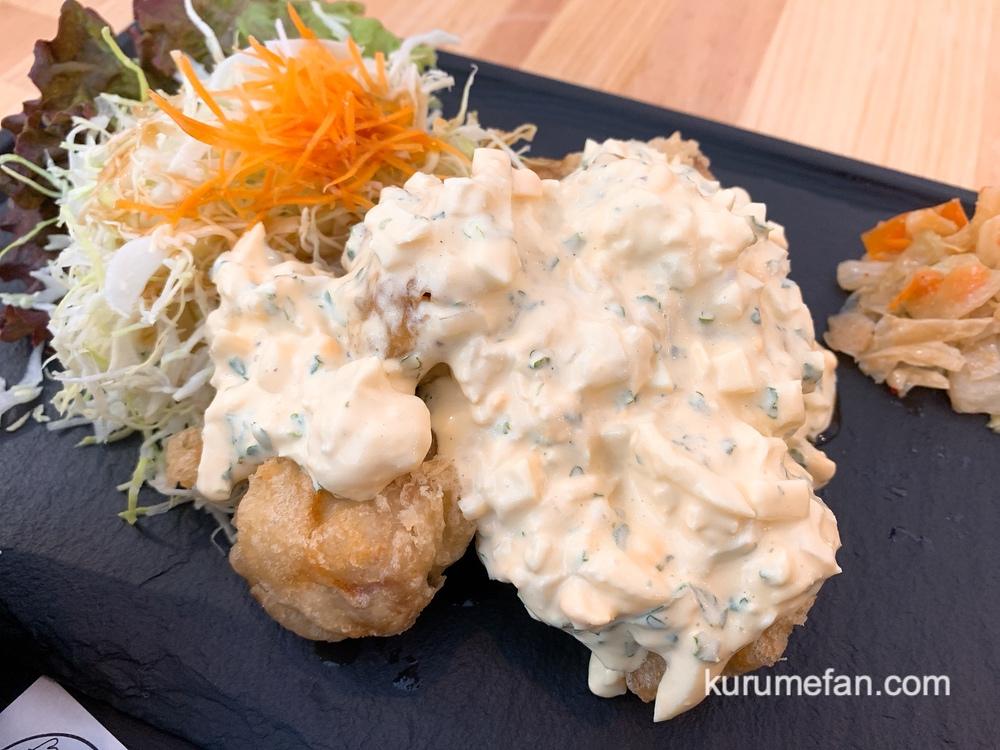 しん吉 タルタルソースたっぷり!チキン南蛮・ポーク南蛮のミックス定食