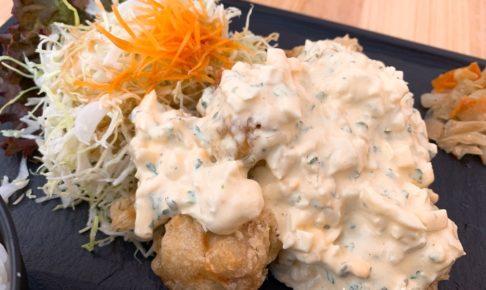 しん吉 タルタルソースたっぷり!チキン南蛮・ポーク南蛮が美味しい【久留米市】