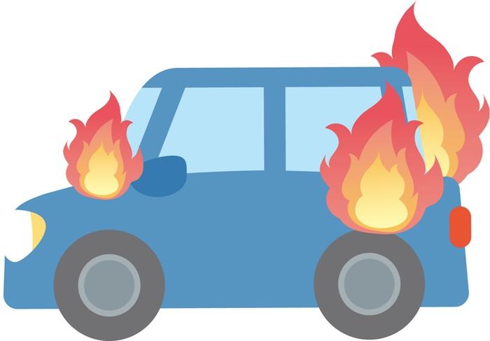 久留米市北野町中川 染公民館西側付近で車両火災【火事情報】