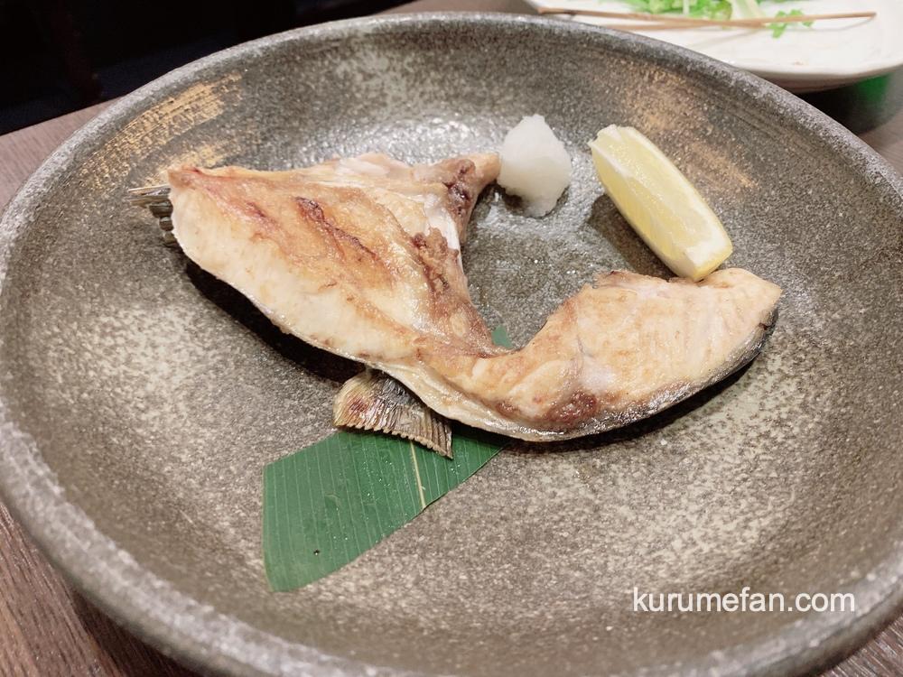 魚政(うおまさ)久留米市 絶品!ブリカマの塩焼き