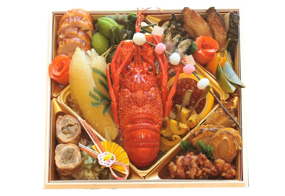 おせち「魚政 特選三段重」一の重 料理内容