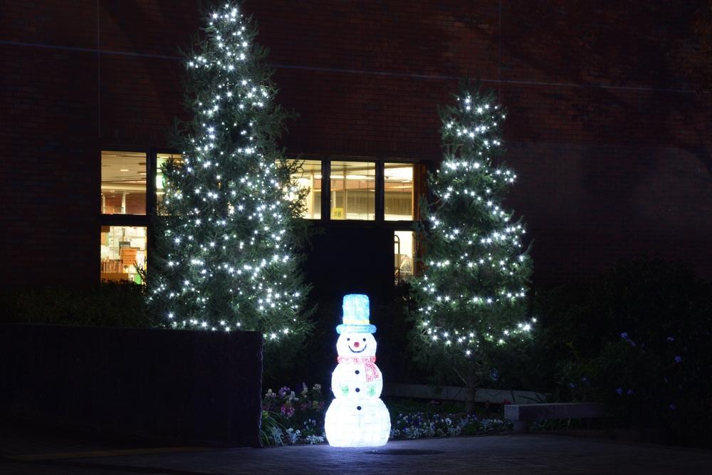 石橋文化センター クリスマスライトアップ&イルミネーション【久留米市】