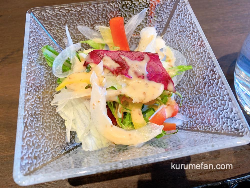 神様の宝石でできた料理店 壱岐牛肉尽くしコース 新鮮な神様のサラダ