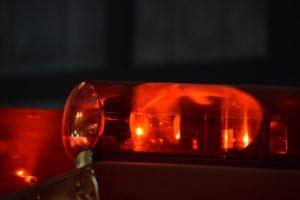 久留米市日吉町 国道209号線で衝突事故 車が中央分離帯の街灯に衝突し男性が重傷