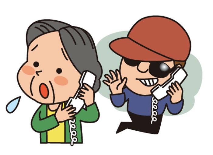 久留米市でニセ電話詐欺事件発生 市役所の職員を装う男 約50万円をだましとられる