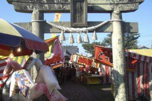 久留米市「三夜さま 月読神社大祭」月読神社の祭礼 1月23日から25日開催