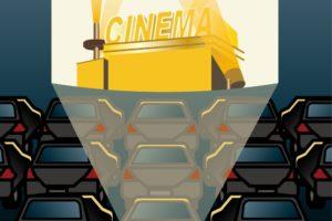 うきは市「ドライブインシアター」星空の下、車でゆったり映画鑑賞【入場無料】