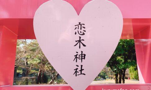 石橋文化センターに恋木神社が!?バレンタインまで祈願絵馬所設置【久留米市】