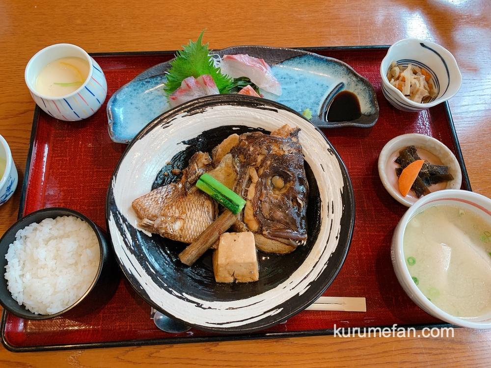 海鮮料理あご屋「本日の煮魚とお刺身の御膳」