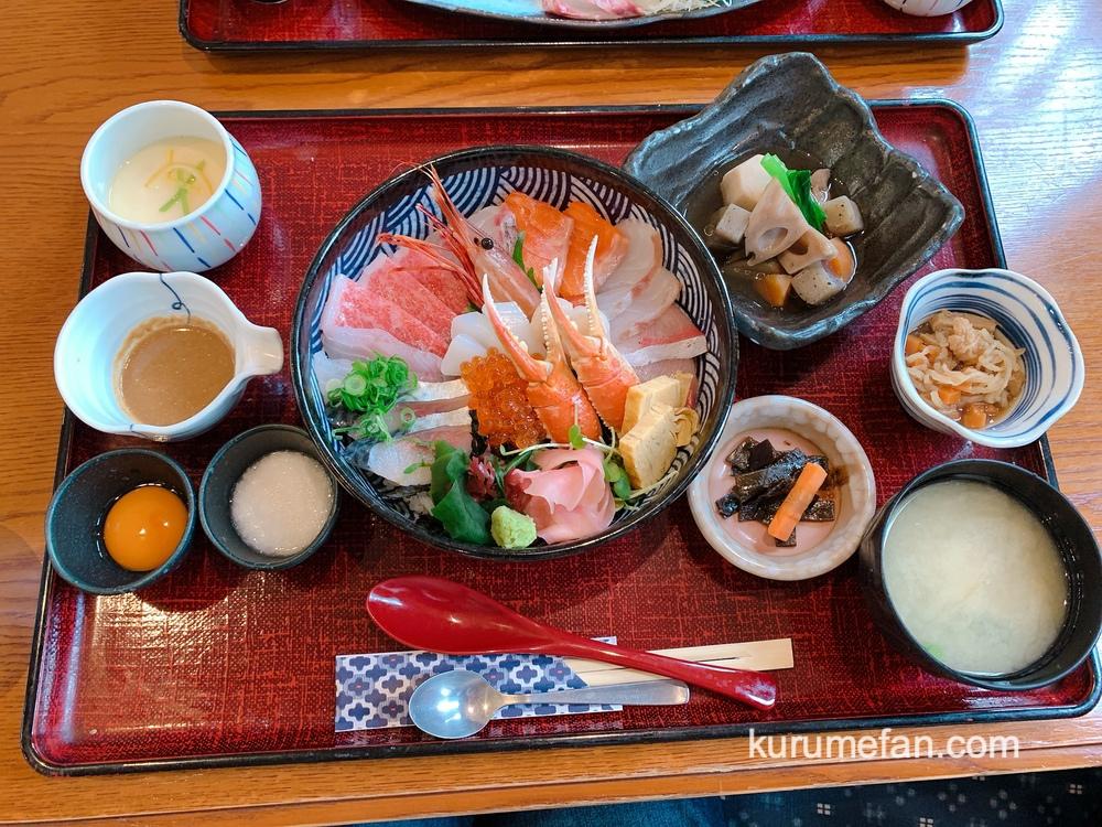 海鮮料理あご屋 1日10名限定「贅沢特撰海鮮丼御膳」