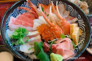 海鮮料理あご屋 贅沢特撰海鮮丼御膳が新鮮で美味しい!【久留米市】