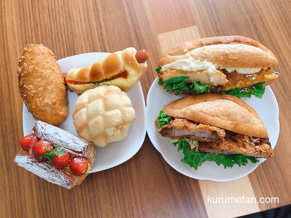 リトルガーデン 「熟成厚切りカツサンド」「チキン南ばん」「シュークリームメロン」などパンを購入