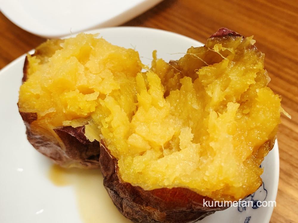 壺焼き芋専門店 イーモクルメ(eeMo)ねっちょり食感!スイーツのように蜜たっぷり、とろける甘さの焼き芋