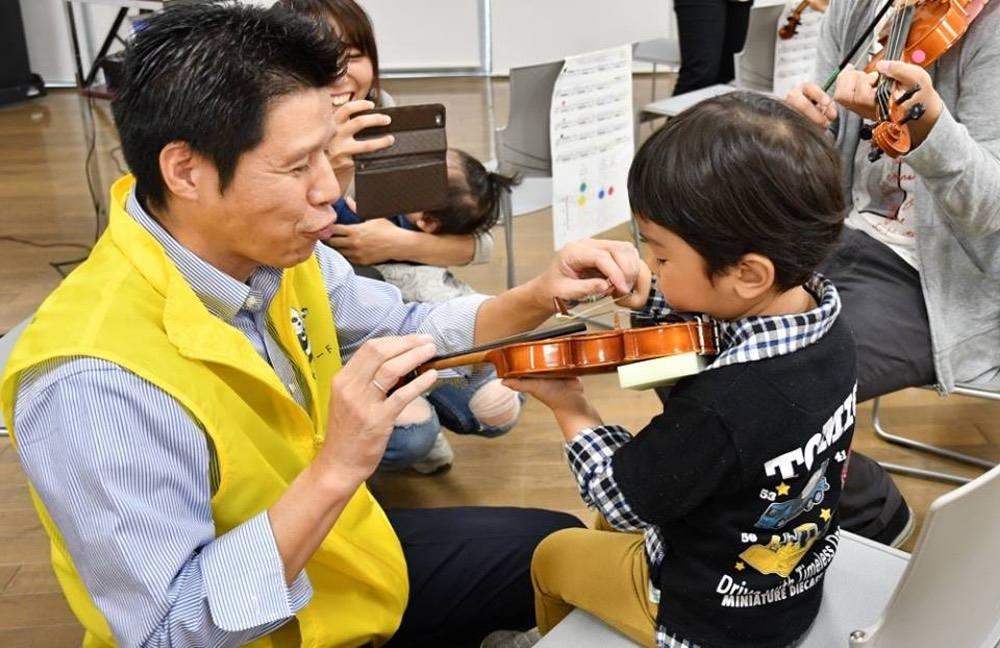 スズキ・メソード久留米 バイオリン無料体験会