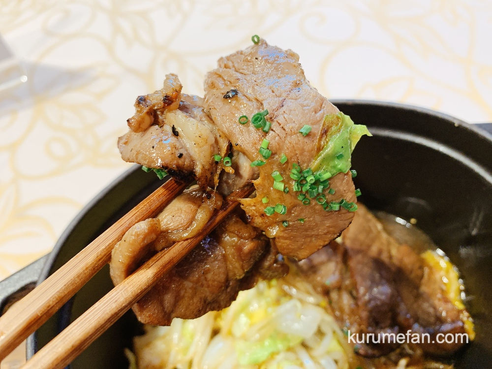 アルカディア久留米 北海道・贅沢コースフェア ラム肉のジンギスカンをストーブにて