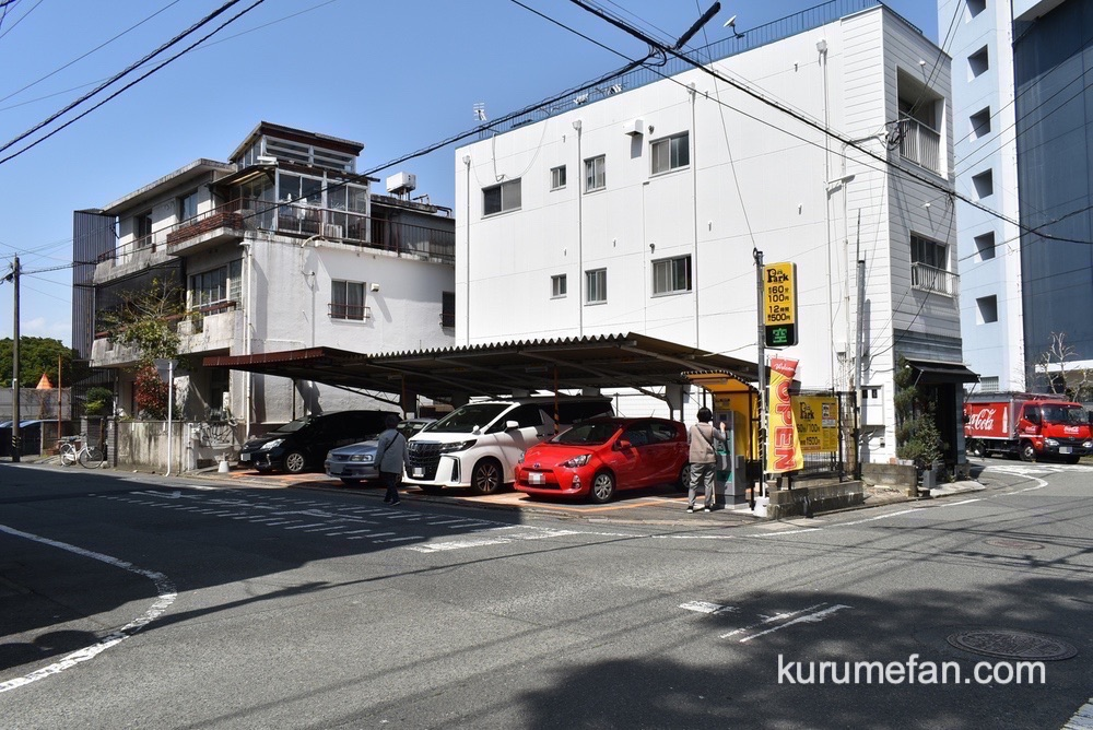 甘味 ya-tsu(かんみ やーつ)駐車場はなく、お隣にコインパーキングがあります