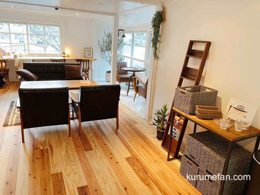 ぷりんのススメ 2階 可愛らしくおしゃれなイートインスペース