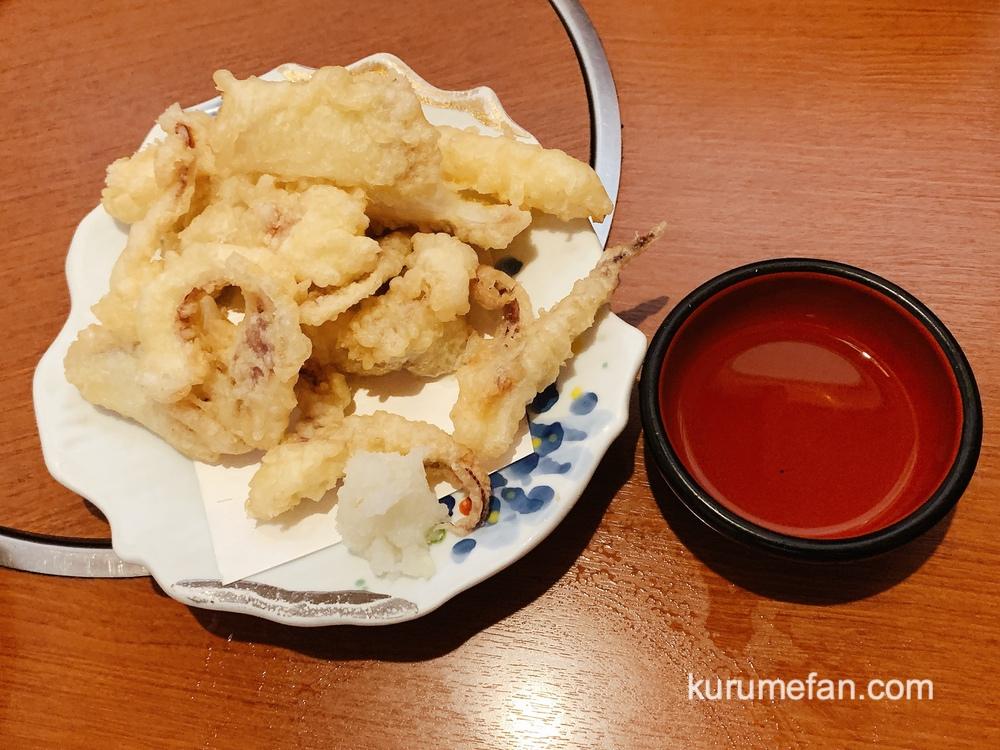 山賊鍋久留米店 イカの天ぷら