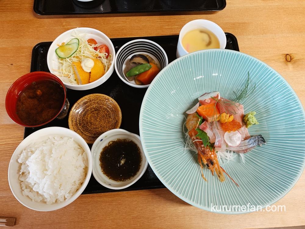 鮨じげん 鮮魚の刺身定食