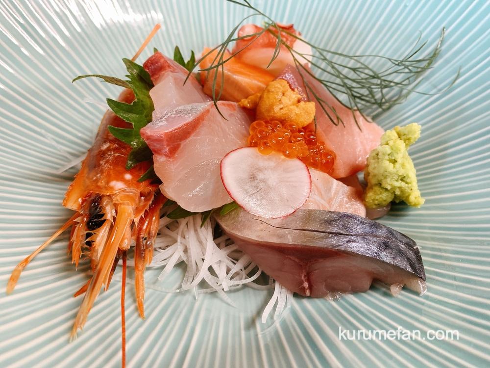 鮨じげん 鮮魚の刺身