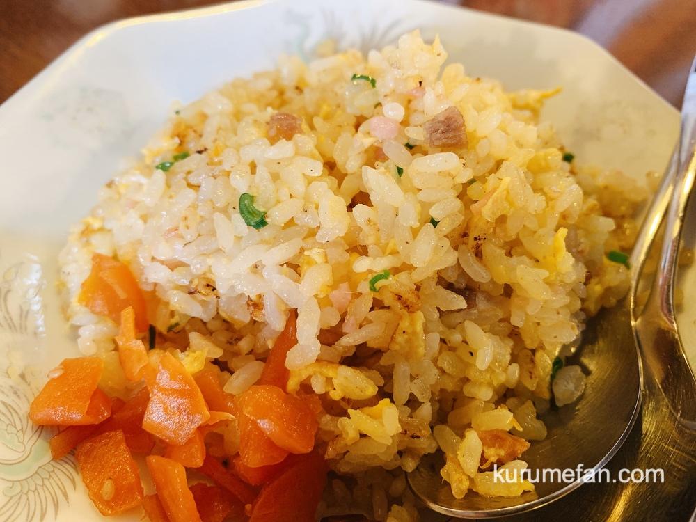 中華屋天風(てんぷう)篠山本店 担々麺 ミニチャーハン