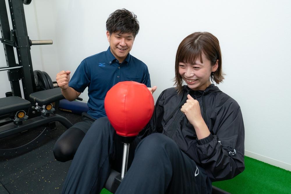 TREE maintenance(ツリーメンテナンス)は、トレーニング用の個室を1部屋完備。パーソナルトレーニング身体分析機械InBody(インボディ)も