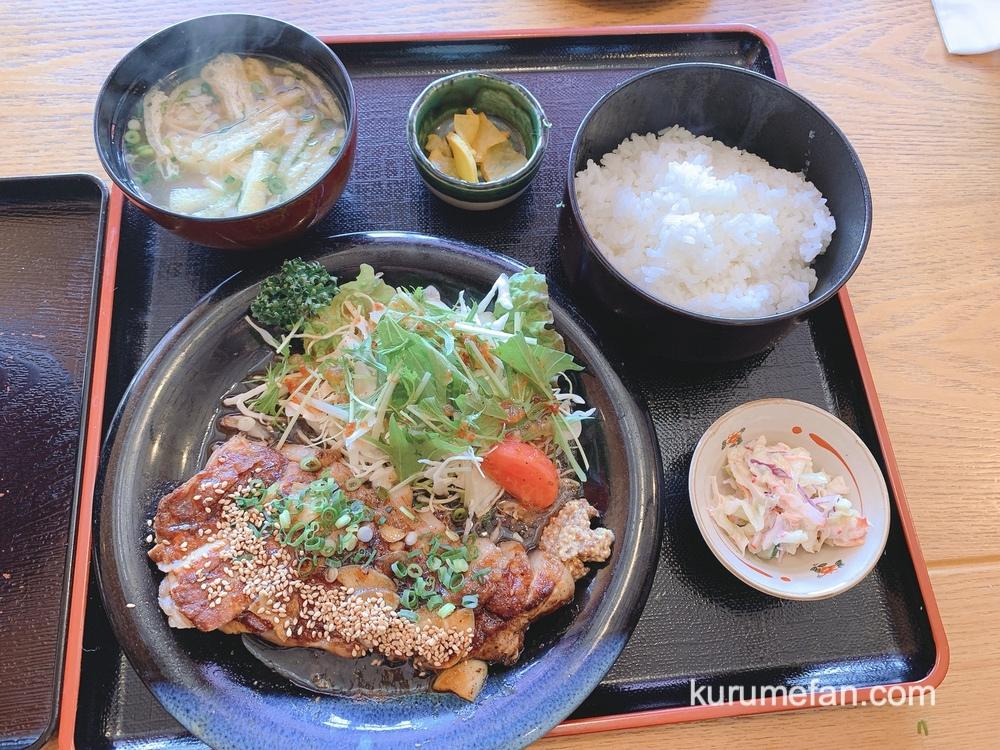 魚国(うおくに)久留米市 ボリューム満点 トンテキ定食