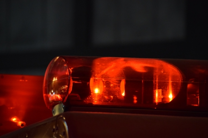 久留米市新合川で衝突事故 クレーン車がトラックと衝突 2人が病院に搬送