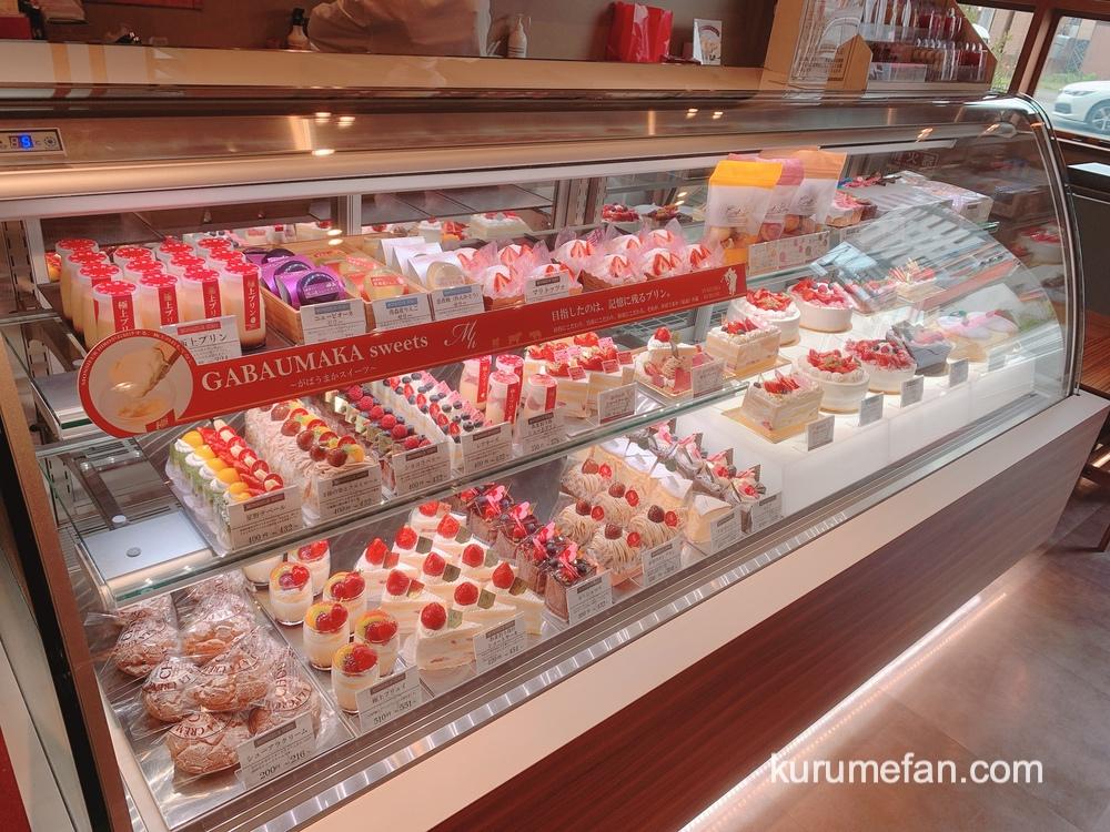 ムッシュヒロ 店内 ショートケーキ