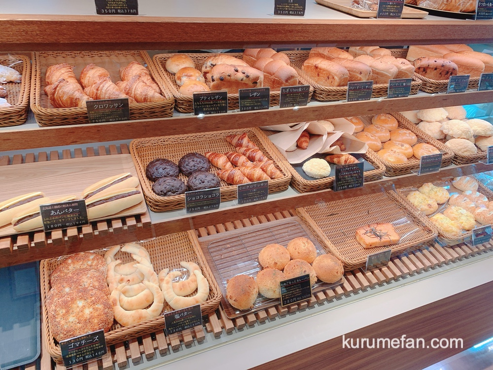 ムッシュヒロ 店内 色々な種類のパン