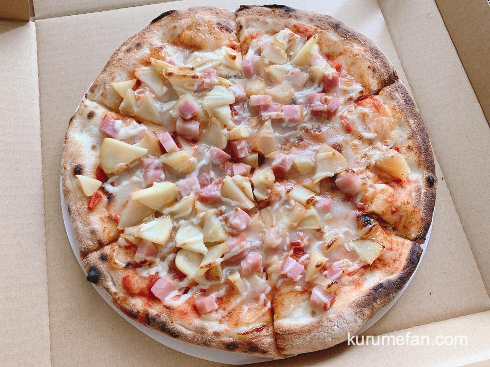 PIZZA PARADISE(ピザパラダイス)ベーコンポテトのピザ