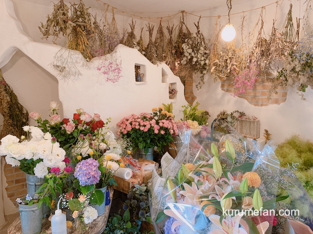 ソワレの森 お花の店「salut(サリュ)」