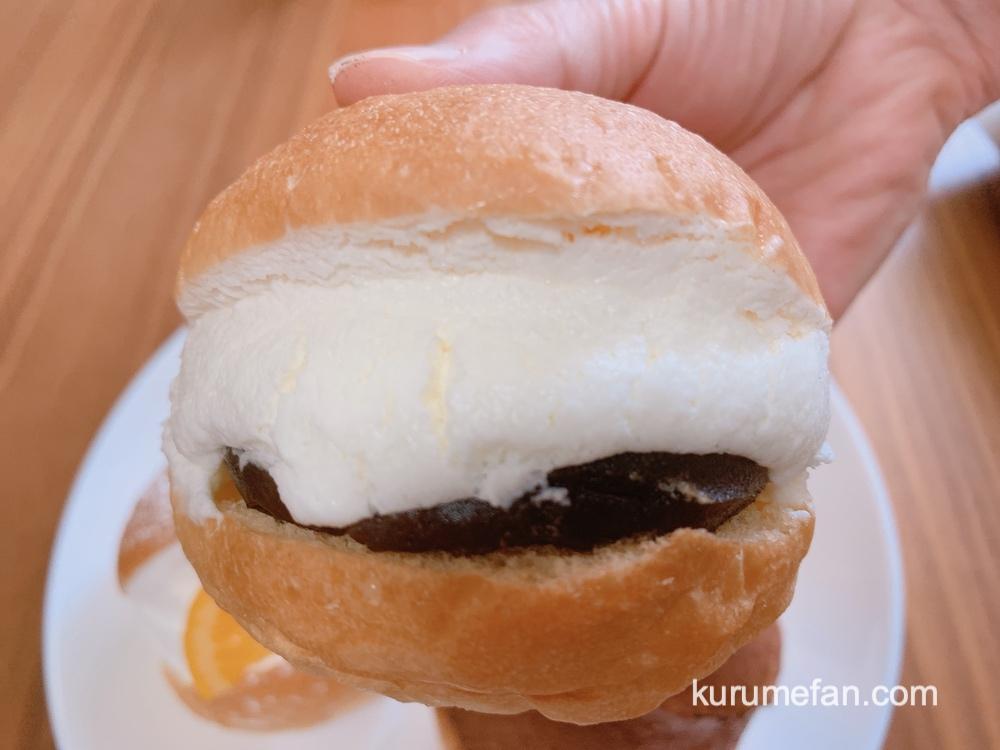 久留米のパンやさんトリコ カフェ・オ・レのマリトッツォ
