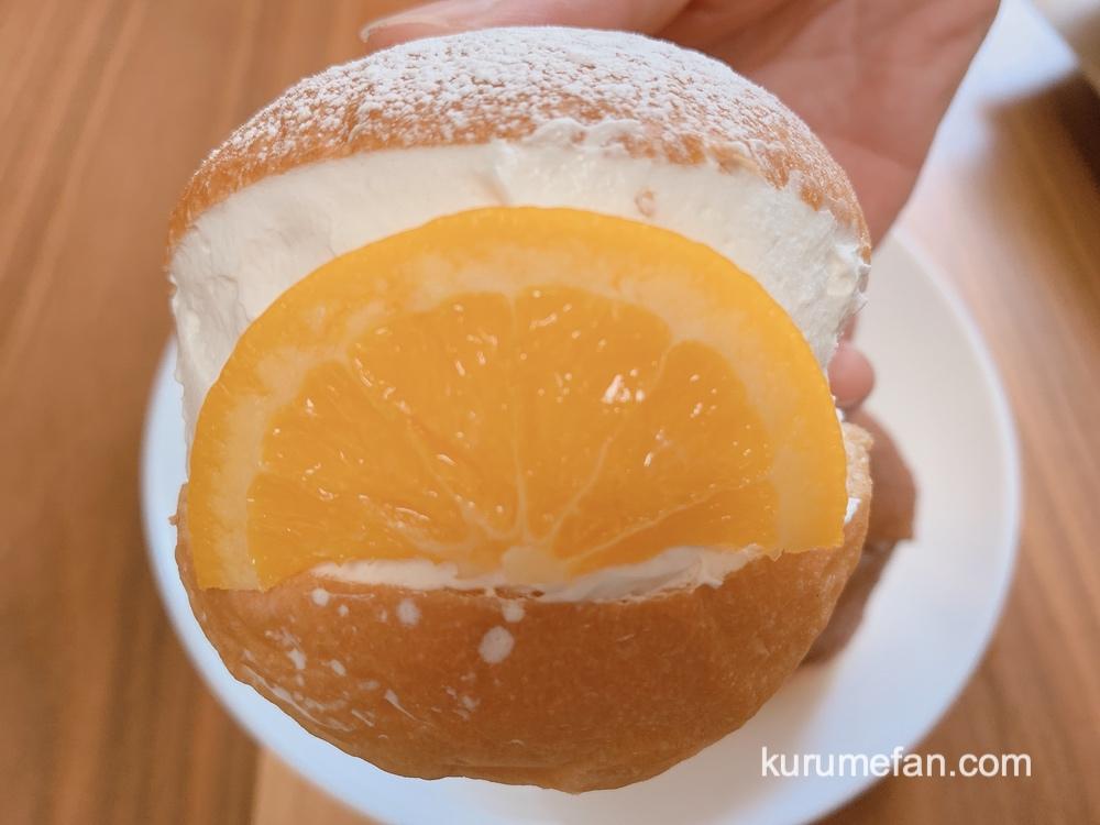 久留米のパンやさんトリコ イタリアンオレンジのマリトッツォ