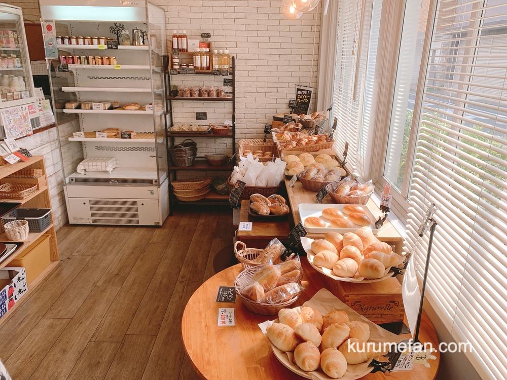 久留米のパンやさんトリコ 小さな店内