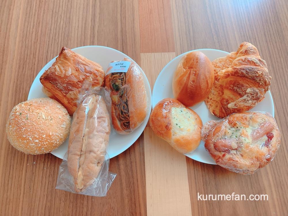 久留米のパンやさんトリコ いろいろなパンを購入