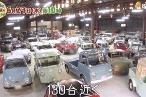 昭和のクルマといつまでも 久留米市荒木町「セピアコレクション」を放送