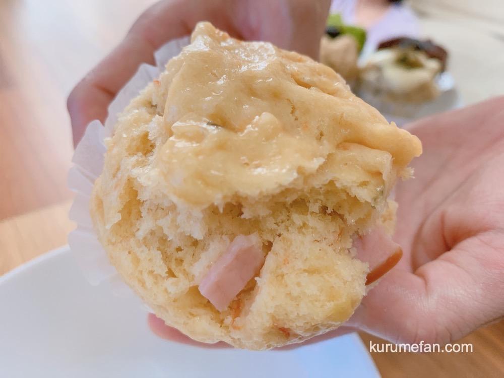 むしぱんと珈琲 橙「トマトとハム」の蒸しパン