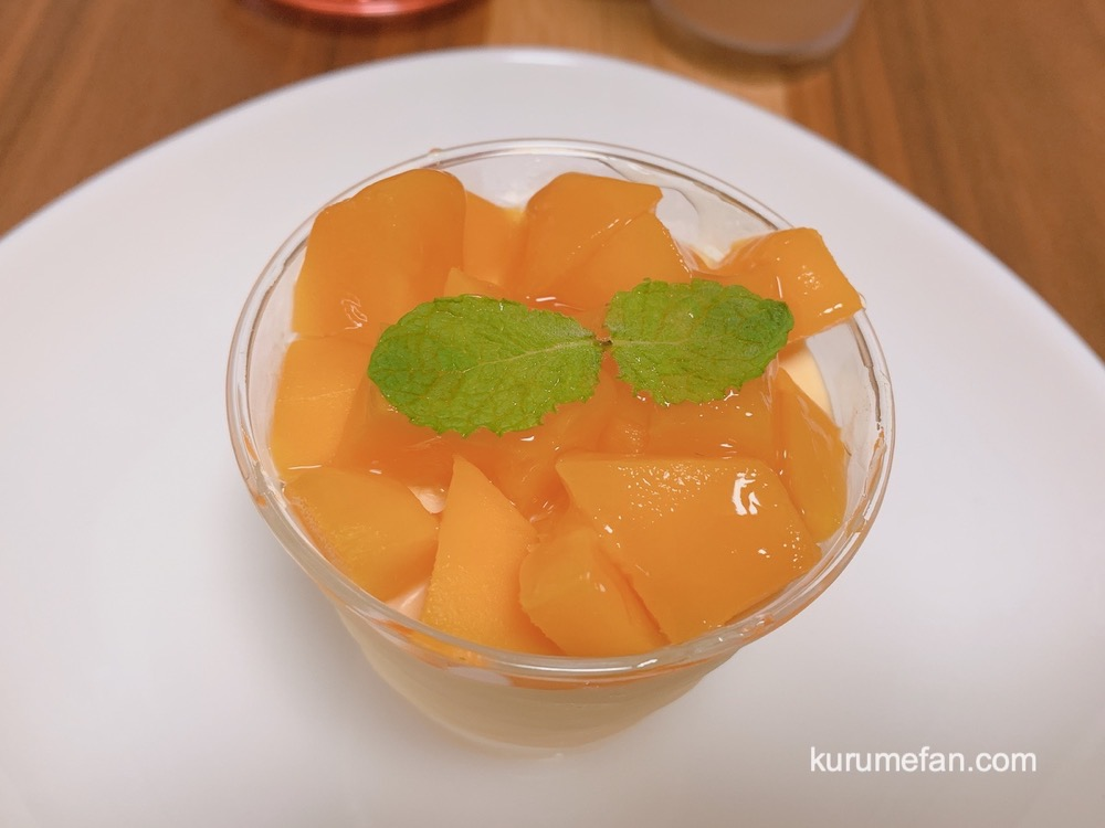 洋菓子工房 ラ・ペ 城島産のマンゴーを使ったケーキでマンゴーのムース