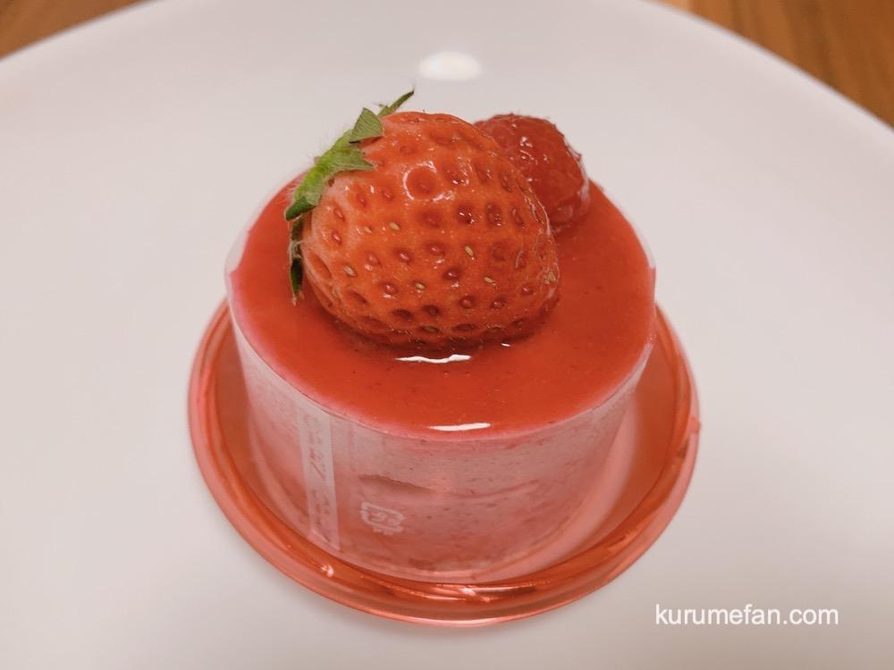 洋菓子工房 ラ・ペ 赤いケーキ フランボワーズ