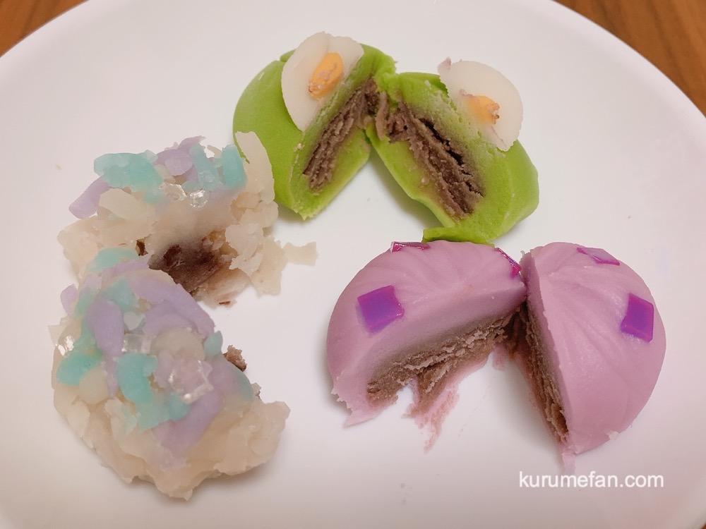 和菓子処とらや 久留米市 季節 上生菓子
