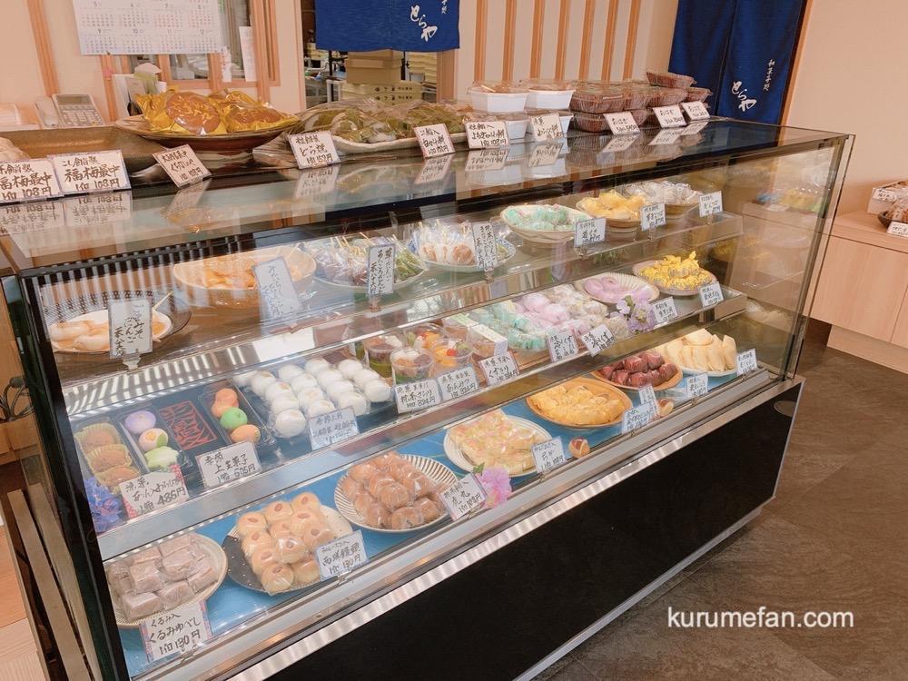 和菓子処とらや 久留米市 色々な種類の和菓子