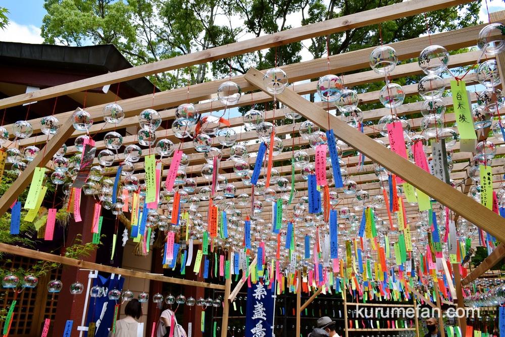 如意輪寺(カエル寺)数千個の風鈴