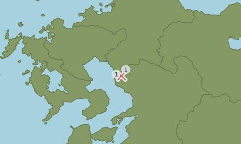 福岡県筑後地方を震源地とする地震 大牟田市で震度1【8月11日】
