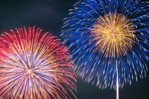 筑後市で今日、8月21日 20時にサプライズ花火!3ヵ所一斉打上げ