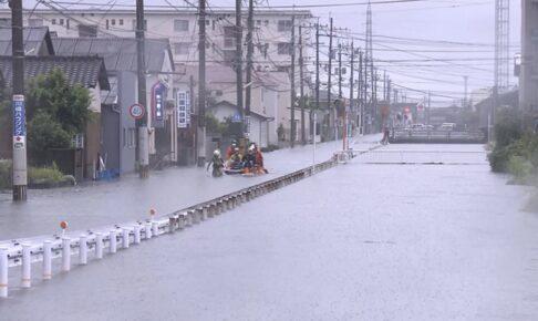 NHK 8月の豪雨 知られざる被害 久留米市で毎年のように浸水被害【9/3放送】