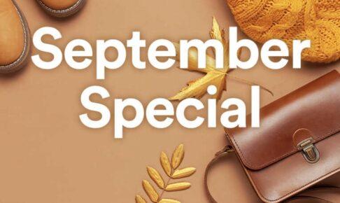 鳥栖プレミアムアウトレット September Special B級品・サンプル品・特価品フェア