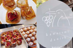 カワセミデニッシュ うきは市にオープンしたフルーツを使ったデニッシュ専門店