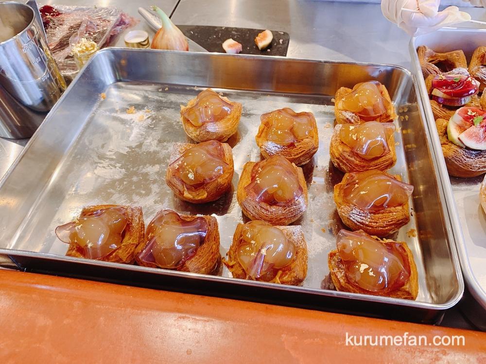 カワセミデニッシュ きは市のフルーツを使った可愛らしいデニッシュ